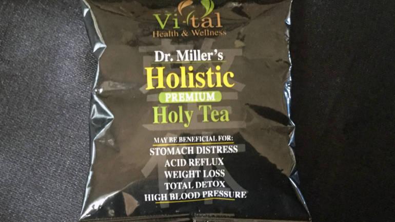 Healthy Tea vs. Holy Tea