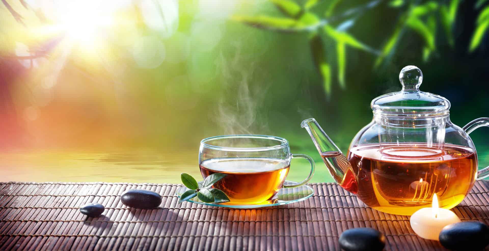 Vital Tea and Tea Pot
